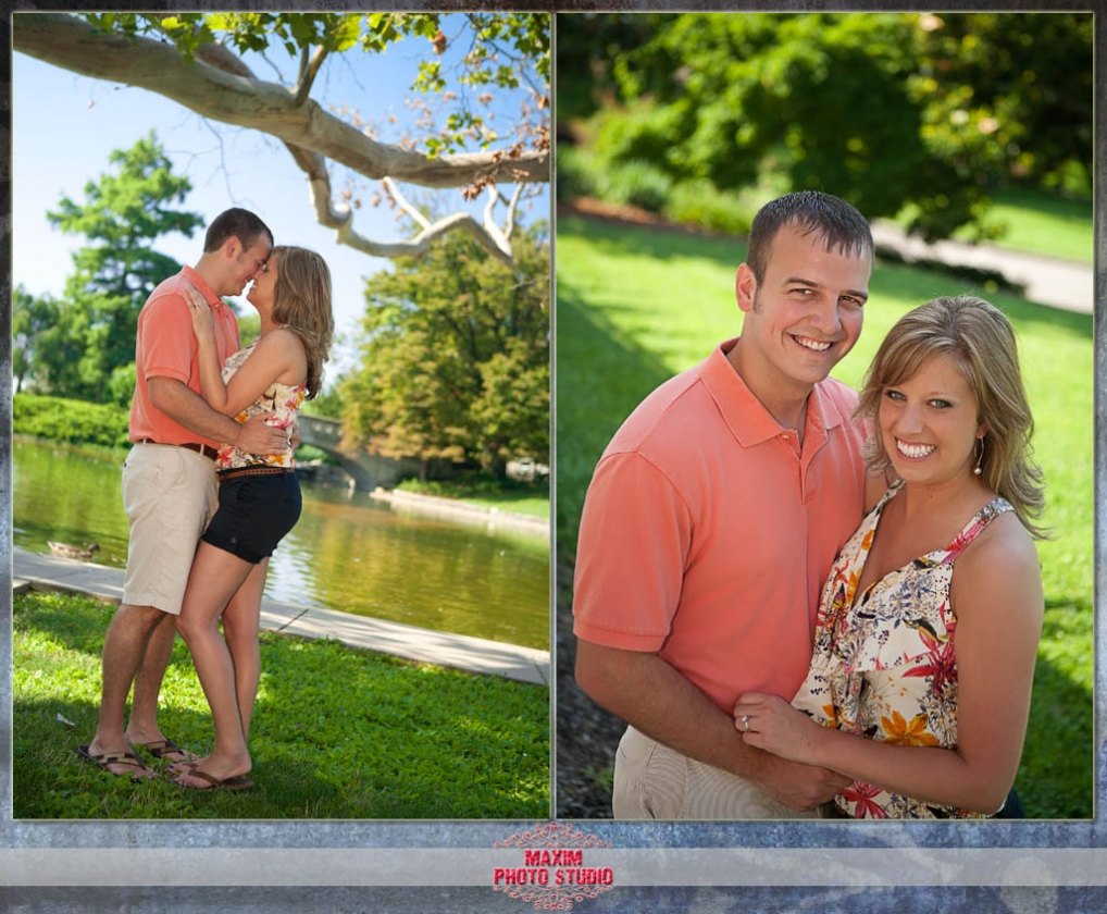 Cincinnati Engagement Photography by Maxim Photo Studio