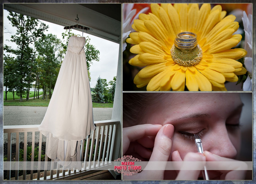 Friday 39s small intimate wedding at Shaker Run Golf Club in Lebanon OH